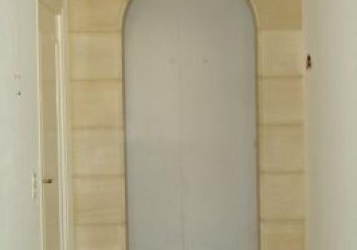 Plein cintre en plaquage sireuil (Avant)